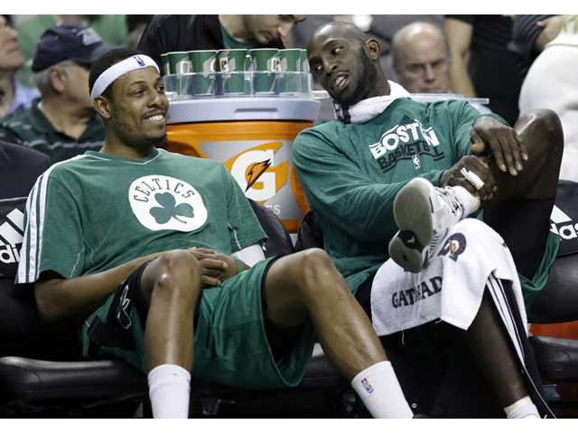 The Brooklyn Nets will acquire Paul Pierce and Kevin Garnett from the Boston Celtics in a deal that was still developing as the NBA draft ended, according to a person with knowledge of the details.