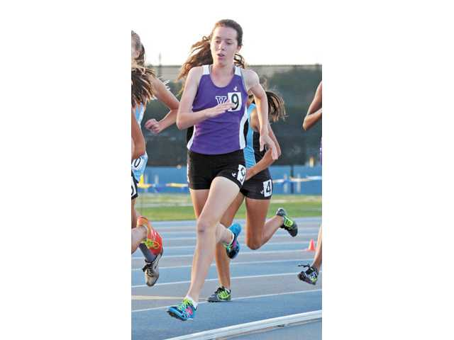 Senior Olivia Pear carried the torch for Valencia cross country and track, finishing 11th in CIF-SS Division I in cross country and fifth in the 800m in track. She also advanced to the CIF State track final.