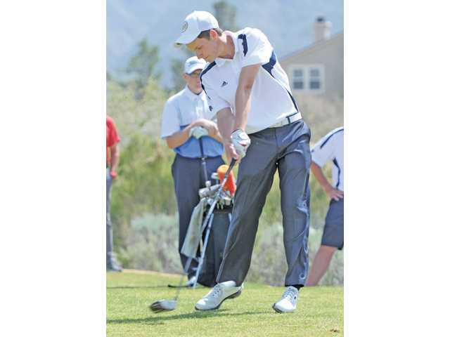 Senior golf Joey Downey was named Foothill and All-SCV Player of the Year.