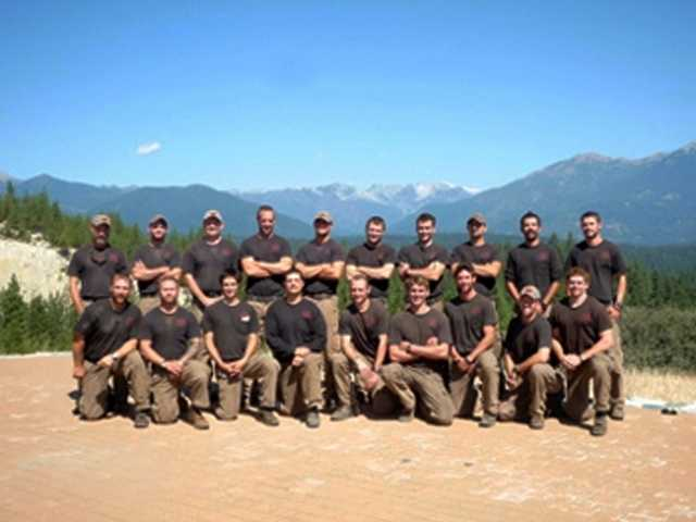 Members of the Granite Mountain Interagency Hotshot Crew from Prescott, Ariz., pose together in this undated photo. Some of the men were among the 19 firefighters killed.