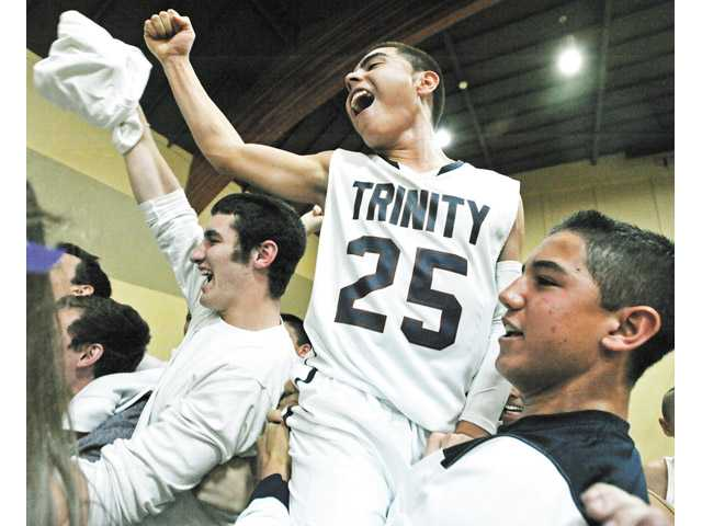 The Trinity Classical Academy boys basketball team reached the CIF-Southern Section Division VI championship game.