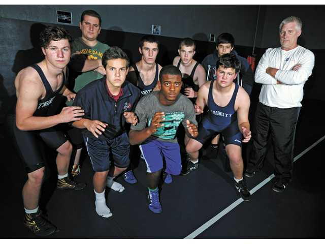 The Trinity Classical Academy wrestling team was the sport's first official CIF squad in the Santa Clarita Valley since the late 1970s.