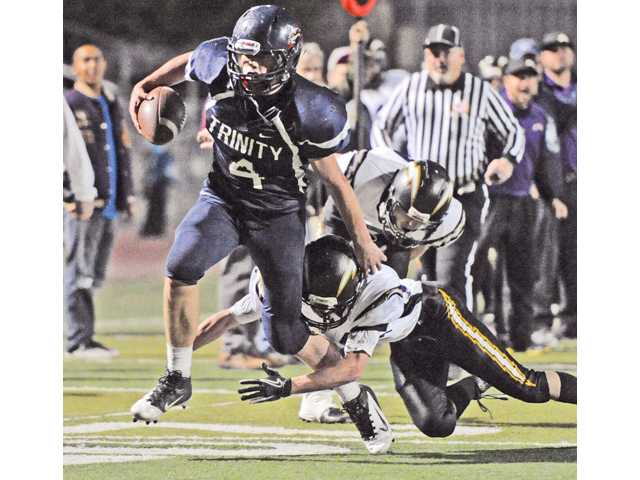Trinity Classical Academy's Spencer Klehn was an All-CIF-Southern Section Division II 8-man football player.