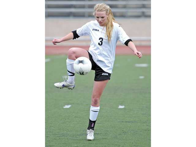 SCCS's Colette Blake was named to the All-Omega first team for soccer.