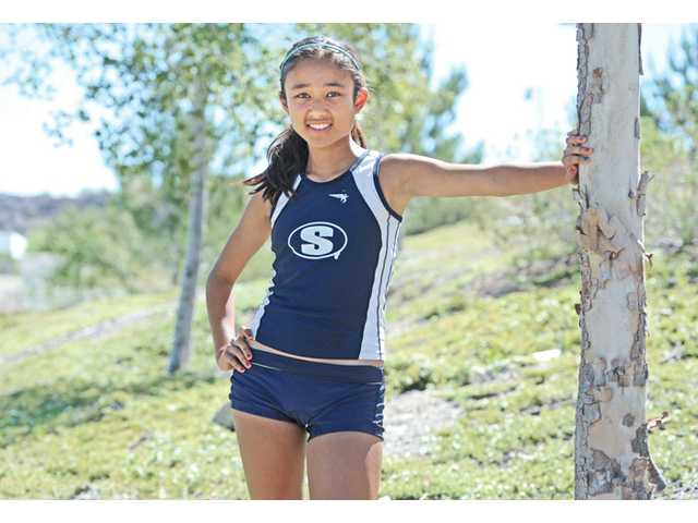 Saugus High sophomore Samantha Ortega helped lead the Centurions to a seventh straight CIF state cross country championship by finishing second overall in the race. She finished 11th overall in the 3,200 in the state track and field championships.