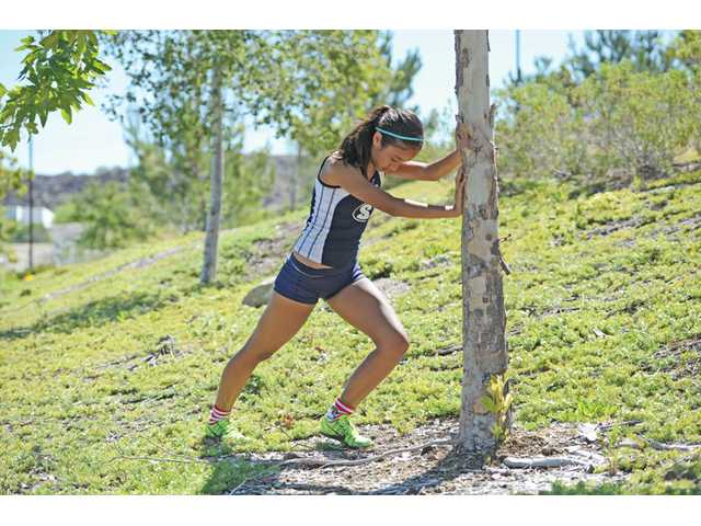 Saugus High sophomore cross country and track runner Samantha Ortega had one of the best debut seasons in Santa Clarita Valley running history.