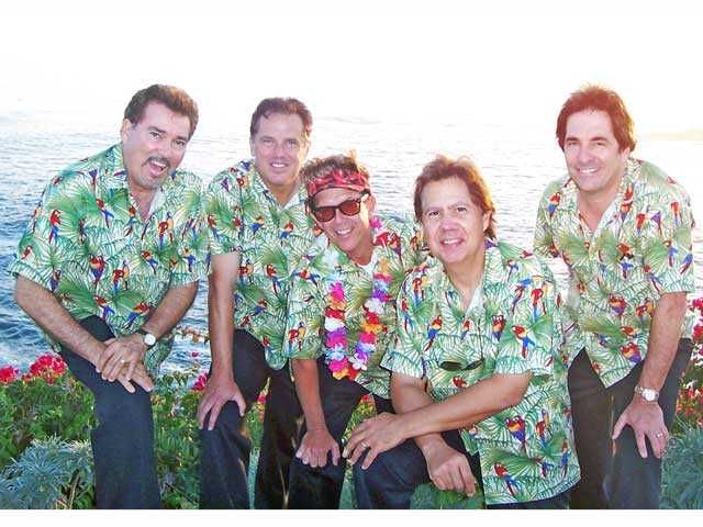 Hodads band members, from left, Jimmy Street, Sterling Smith, John Hatton, Tony Jones and Bob Schuster.
