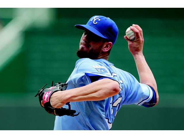 Hart High graduate James Shields may have only four wins on the season, but he remains the ace of the Kansas City Royals staff with a 3.12 ERA, 112 strikeouts and two complete games under his belt.