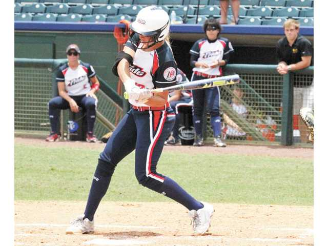 Hart High graduate Jessica Shults is playing professional softball with the USSSA Pride after winning a national championship with the Oklahoma Sooners in June.