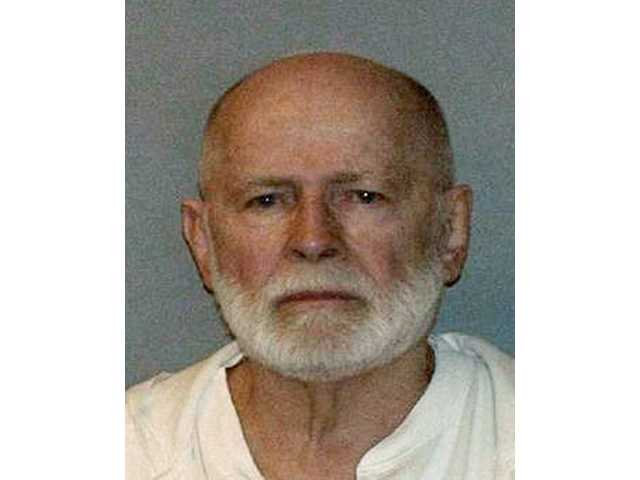 "This undated file booking photo shows Boston mob boss James ""Whitey"" Bulger, who was captured on June 22, 2011, in Santa Monica."
