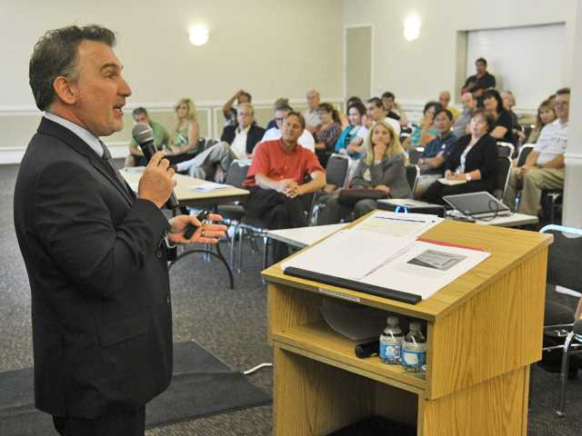 Santa Clarita Healthcare meeting draws dozens