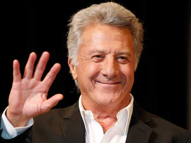 "In this April 8, 2013 file photo, actor Dustin Hoffman waves to fans during the Japan Premiere of his film, ""Quartet,"" in Tokyo."