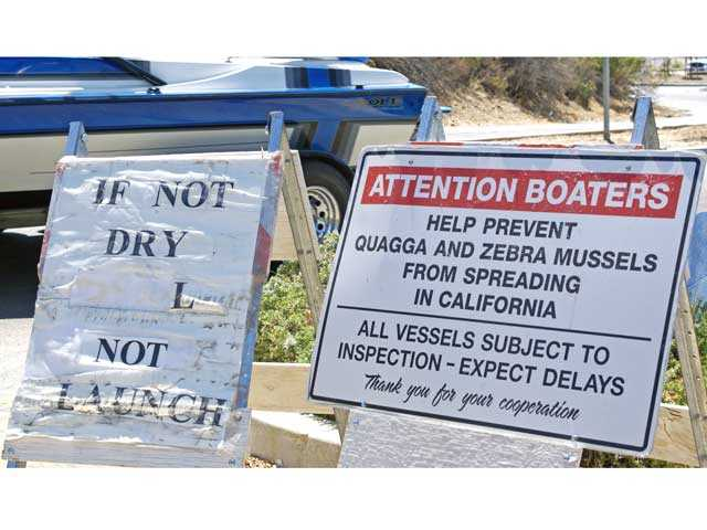 boat inspection program succeeds in fending off craft borne hazard