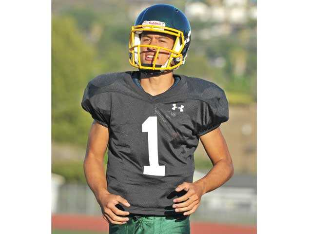 Quarterback Cade Apsay will lead the Canyon offensive attack.