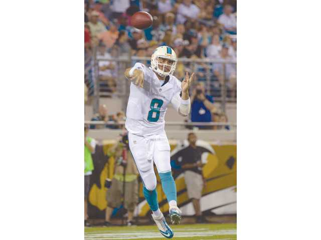 Miami Dolphins quarterback Matt Moore is a Hart High graduate.