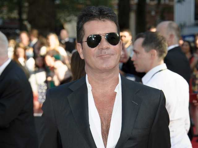 British producer Simon Cowell