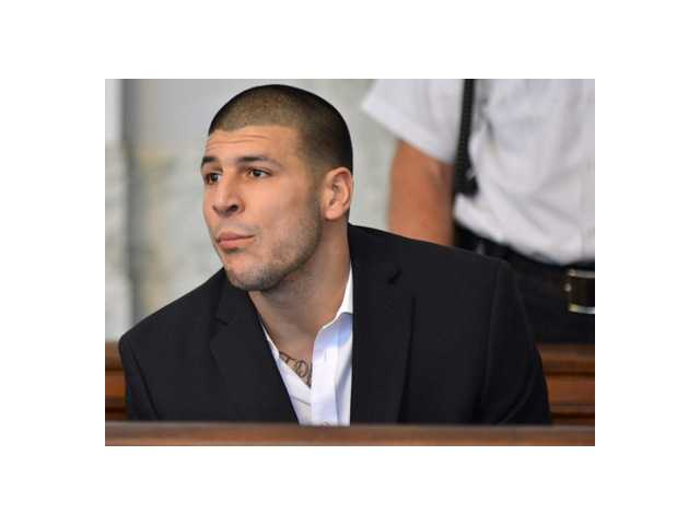 Aaron Hernandez, former New England Patriot football player, indicted on first-degree murder charges in the deather of a friend on Thursday.