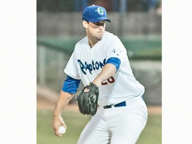 Golden Valley graduate Scott Barlow plays for the Rookie League Ogden Raptors of the Los Angeles Dodgers' organization. Noall Knighton/Ogden Raptors