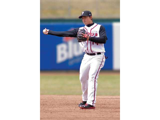 Former Valencia Viking Christian Lopes plays for the Single-A Lansing Lugnuts of the Toronto Blue Jays' organization. Scott Mapes/Lansing Lugnuts