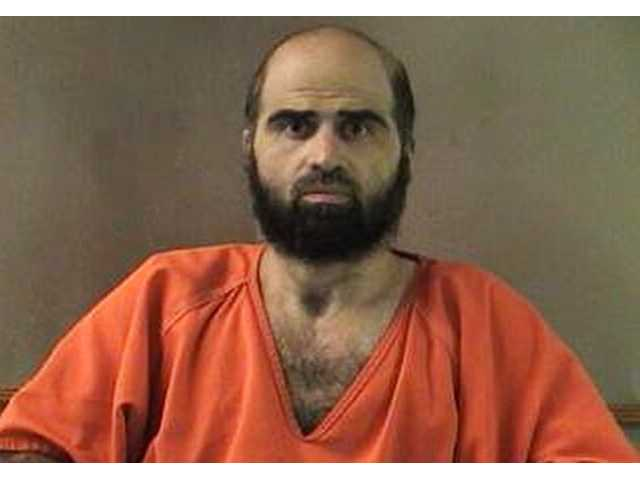 This undated photo provided by the Bell County Sheriff's Department shows Army psychiatrist Maj. Nidal Hasan.