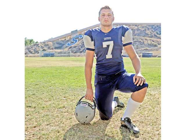 Saugus senior linebacker Austin Davenport verbally committed to New Mexico State in July.