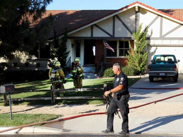 A Simi Valley woman, killed by her 29-year-old son over the weekend, had a three-year restraining order against him. The son killed his mother and set the house on fire.