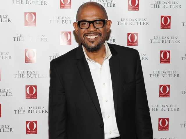 Oprah Winfrey, Jamie Foxx and Forest Whitaker are among the actors to mark the 50th anniversary of the March on Washington. Above, actor Forest Whitaker.