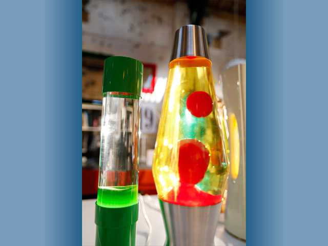 In this Aug. 19 photo, lava lamps are photographed in a shop in London. The lava lamp, an iconic piece of British design and social trends, is celebrating its fiftieth birthday.
