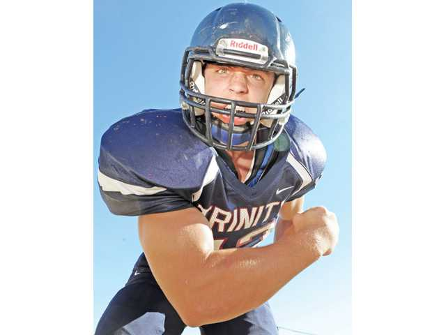 Trinity Classical Academy senior Patch Kulp led the team with 141 tackles last season while also playing running back.