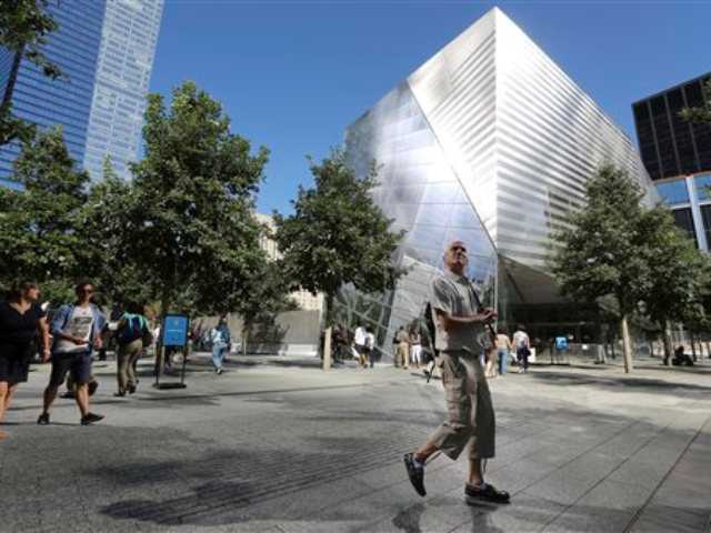 Sept 11 Museum putting hallowed artifacts in place
