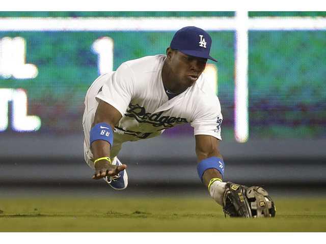 Diamondbacks beat Dodgers 4-1 to stop 5-game skid