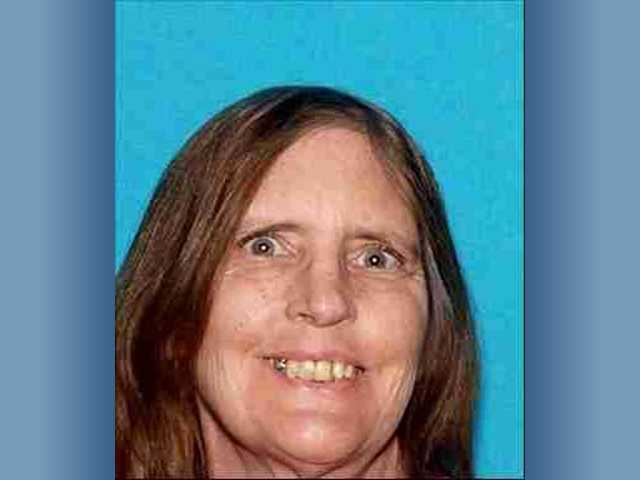 This photo from a Los Angeles County Sheriff's bulletin shows the deceased woman - 59-year-old Martha Myers.