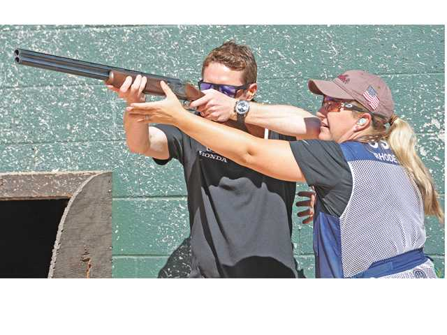 Gold medalist, IndyCar champion shoot the breeze in Newhall