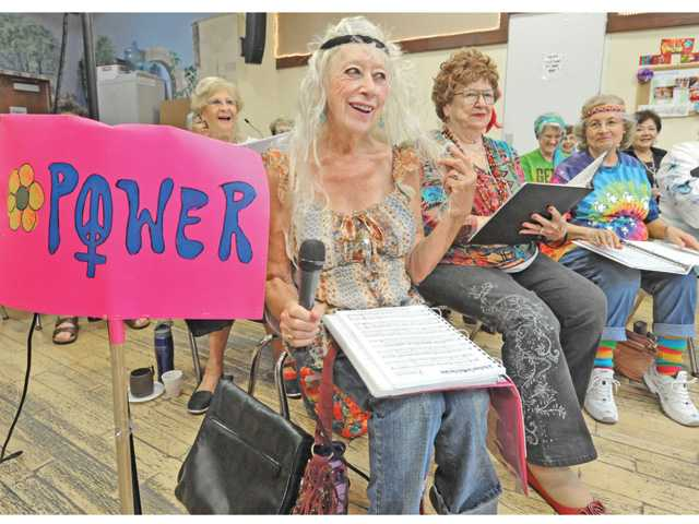 'Sweeter softer side of the Sixties' swings into Senior Center