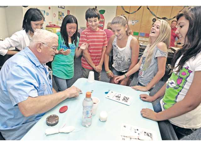 Castaic residents celebrate Grandparents Day