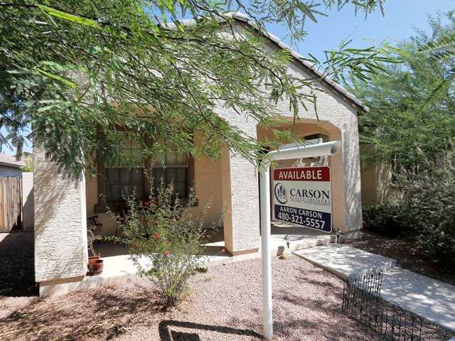 A home for sale in Gilbert, Ariz. Home prices rose 12.4 percent in July compared with a year ago, the most since February 2006.