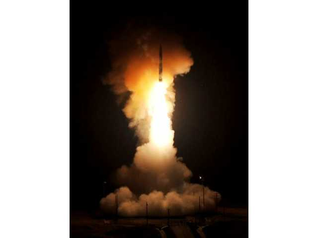 ICBM test-launched from California
