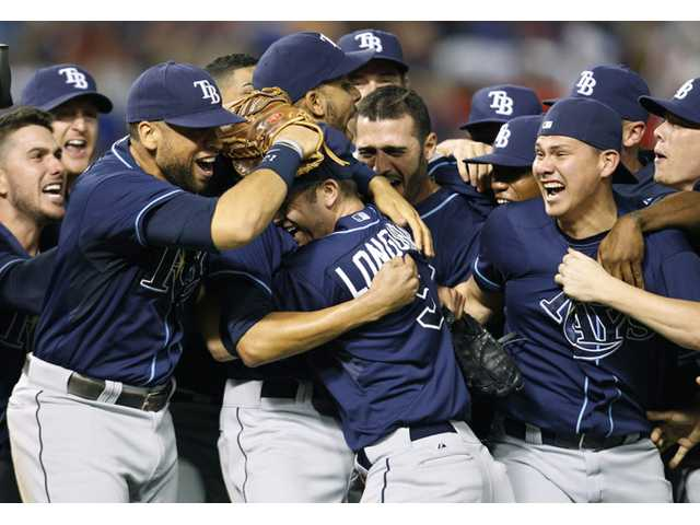 Rays beat Rangers for final playoff spot