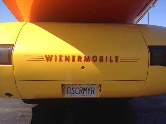 No doubt it's the Wienermobile. Signal photo by Eduardo Oliden Jr.