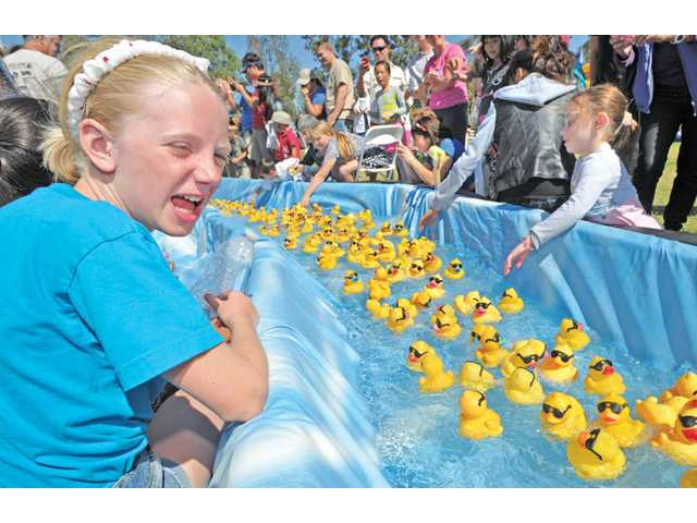 Eleventh annual Rubber Ducky Festival
