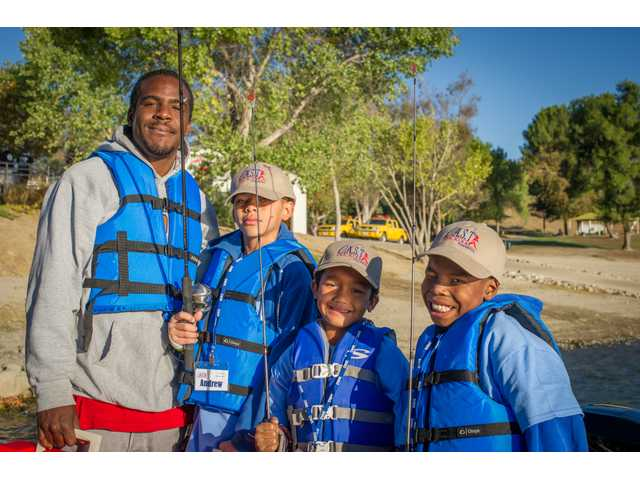 70 kids learn the thrill of fishing