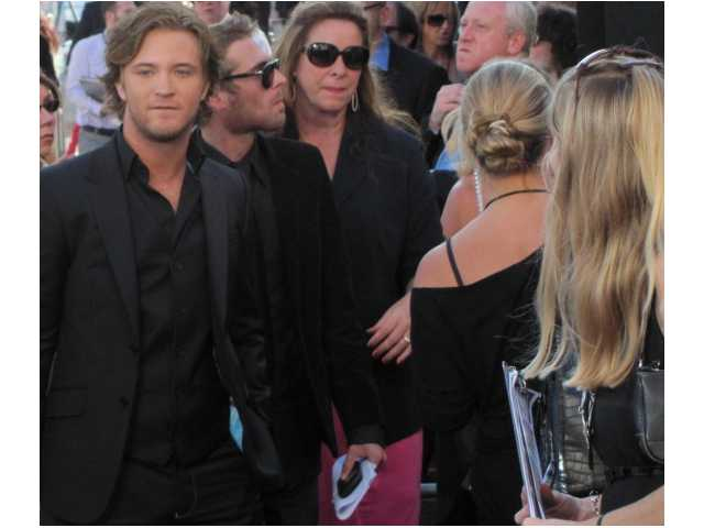 Michael at the premiere of Eclipse from the Twilight Saga. Courtesy photo