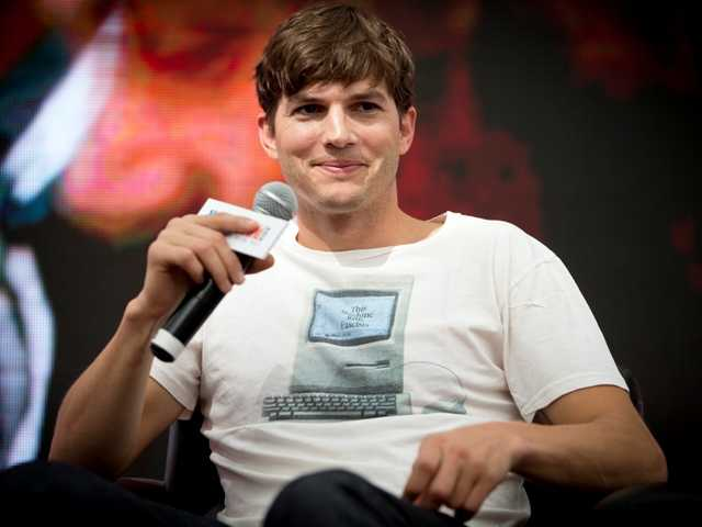 "Actor Ashton Kutcher, who portrays Apple's Steve Jobs in the film ""Jobs,""  has been hired to hel design and pitch computer-maker Lenovo's latest line of tablets."