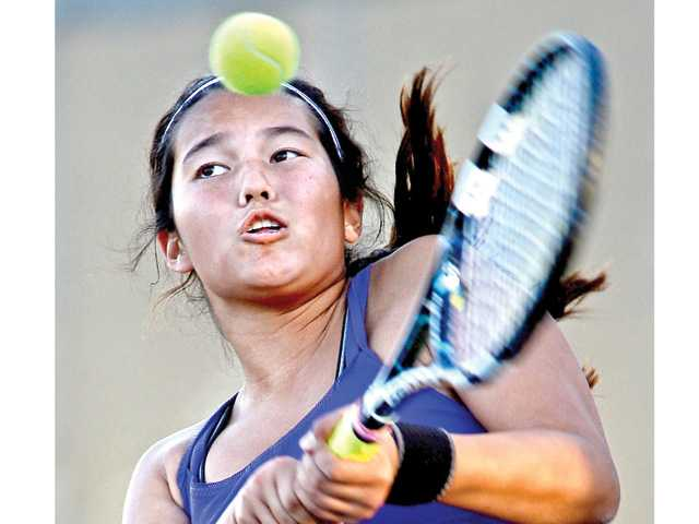 CIF tennis playoffs: Valencia girls advances thanks to their strength