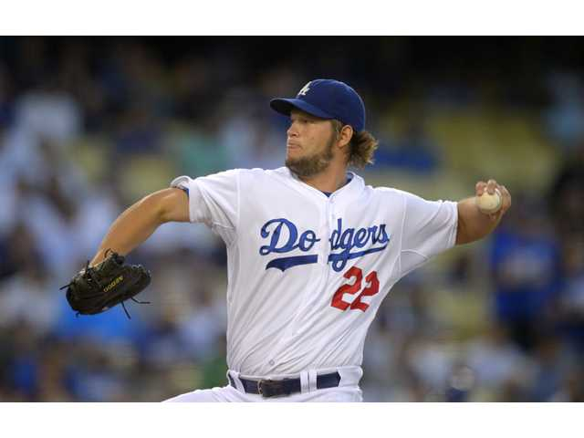 Los Angeles Dodgers starting pitcher Clayton Kershaw won the National League Cy Young Award on Wednesday.