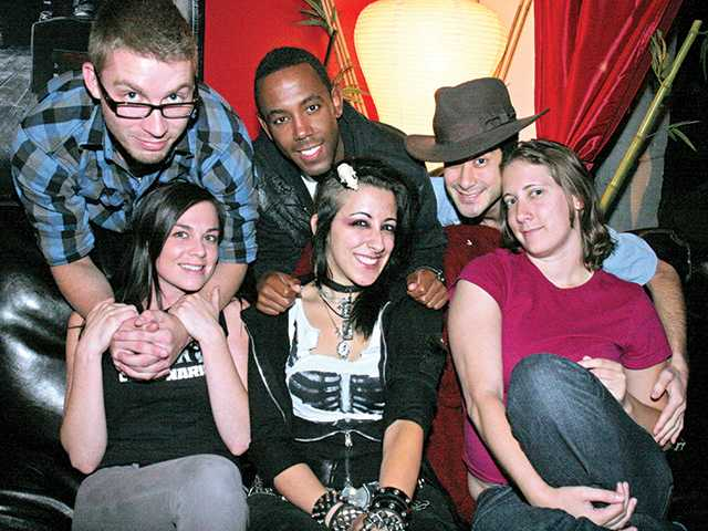 Residents of The Performers House in Newhall in 2010. Back row, left to right, Adam Laney, Joseph Bayard and Dean Weber. Front row, left to right, Nicole Ramsey, Jobeth Wagner and Nikki Baker.  Signal archives