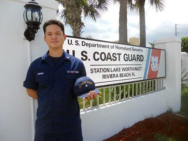 MK3 Andrew Curran arrives aboard Station Lake Worth Inlet in sunny Florida, where he can earn certifications enabling him to join with crews on patrols. Courtesy photo