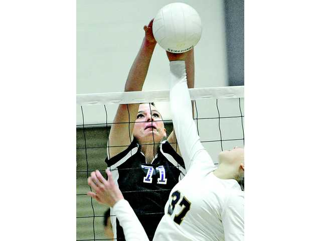 Valencia outside hitter Lindsey Knudsen was voted by coaches as the 2013 Foothill League Player of the Year.