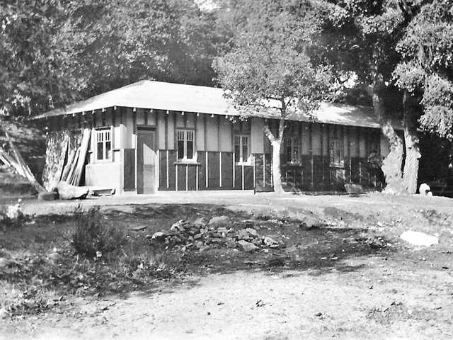 "This courtesy photo shows the ""summer house"" at Walker Ranch."