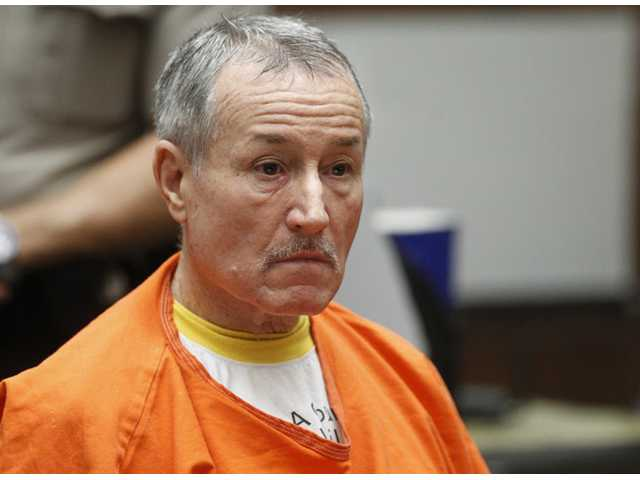 Former Los Angeles teacher Mark Berndt, 62, is seen during his change-of-plea hearing in Los Angeles on Nov. 15.